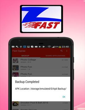 Fast Zypiaa- Share or Transfer File apk screenshot