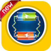 Super battery charging 5x icon