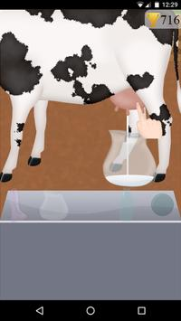 farm cow milk game poster