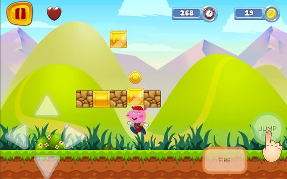Super Pig World frEE Peppa Sandy Game screenshot 1