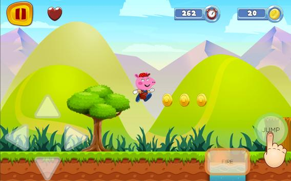 Super Pig World frEE Peppa Sandy Game screenshot 2