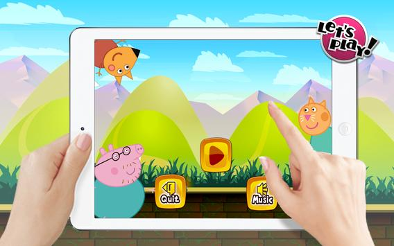 Super Pig World frEE Peppa Sandy Game screenshot 4