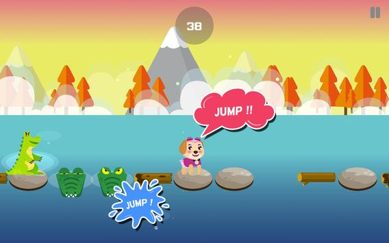 paW Blocky patRol Jump Game apk screenshot