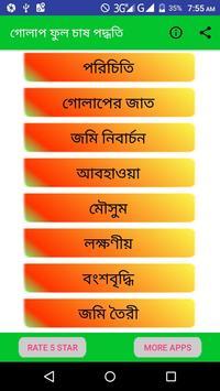 গোলাপ ফুল চাষ পদ্ধতি poster