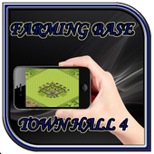 Town Hall 4 Farming Base Layouts icon