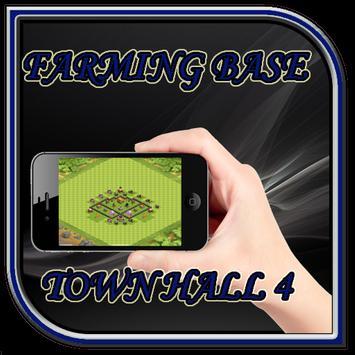 Town Hall 4 Farming Base Layouts apk screenshot