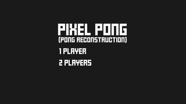 Pixel Pong poster