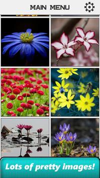Flower Slide Puzzle screenshot 1