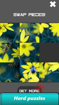 Flower Slide Puzzle screenshot 20