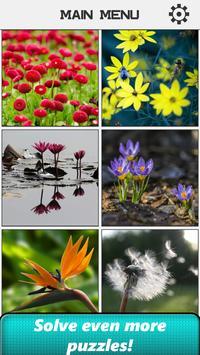 Flower Slide Puzzle apk screenshot