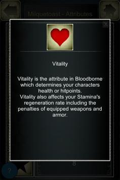 Stat Calculator for Bloodborne apk screenshot