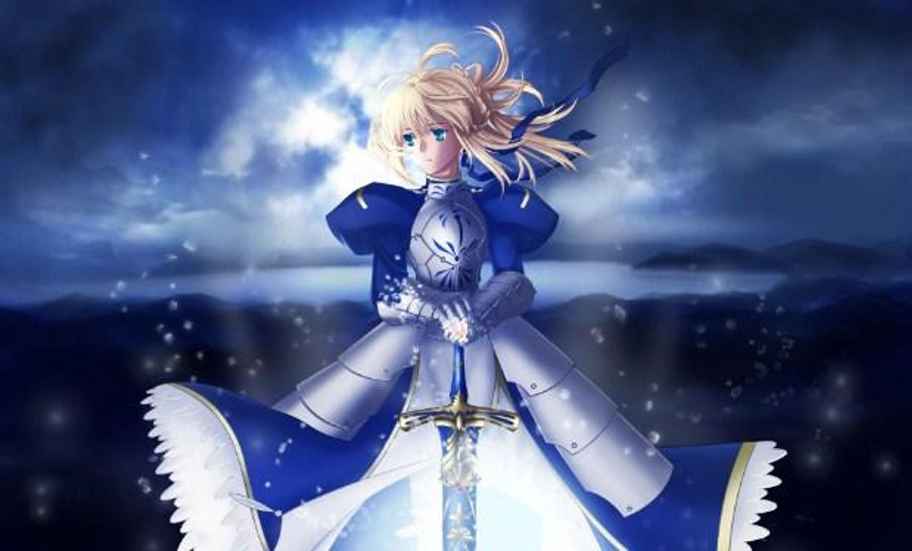 Fate Stay Night Saber Wallpaper For Android