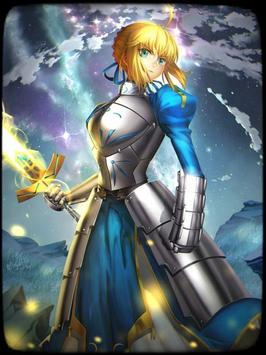 Fate Stay Saber Wallpaper 截圖 1
