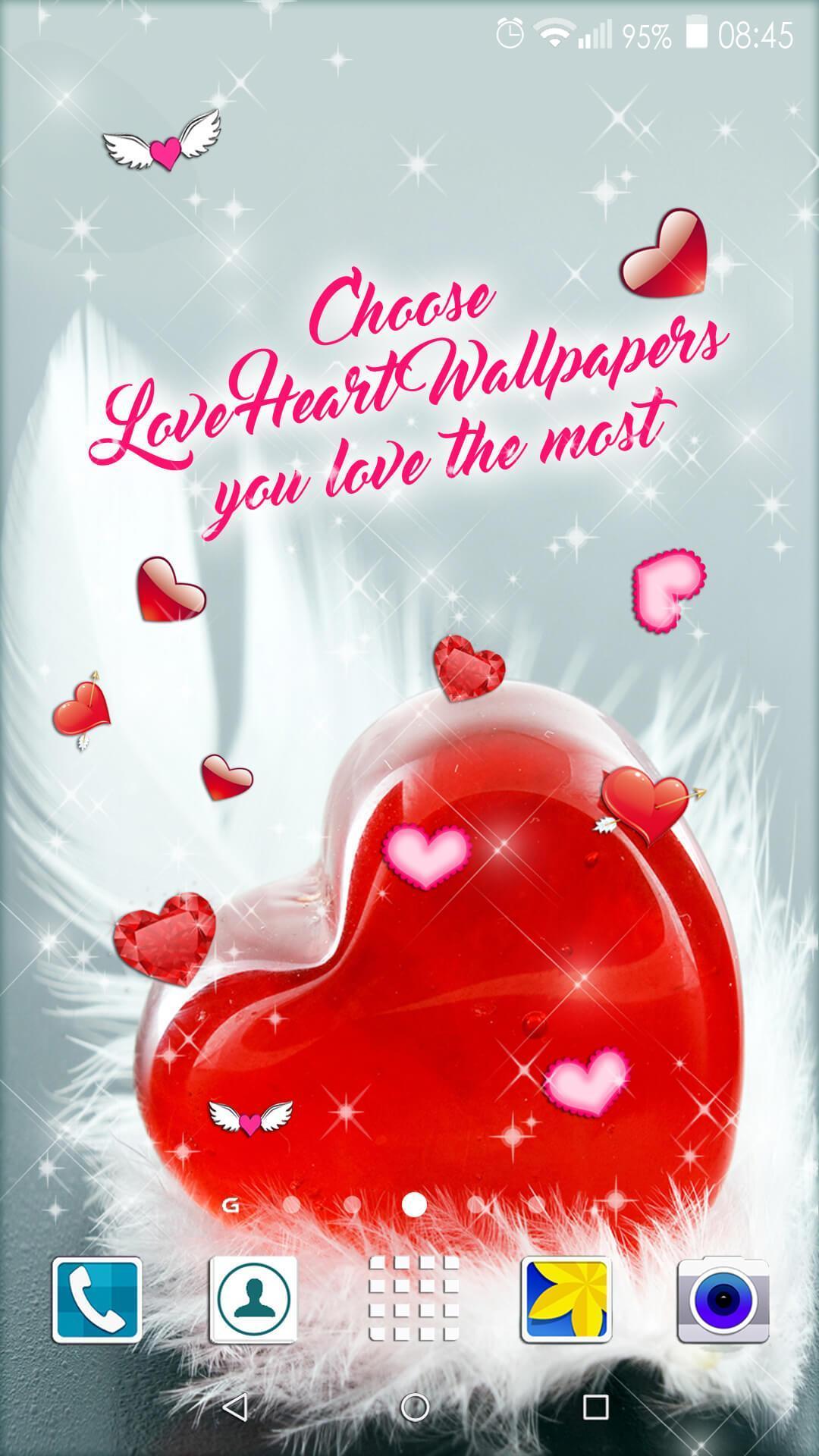 Wallpaper Hati 💞 Gambar Cinta Romantis For Android APK