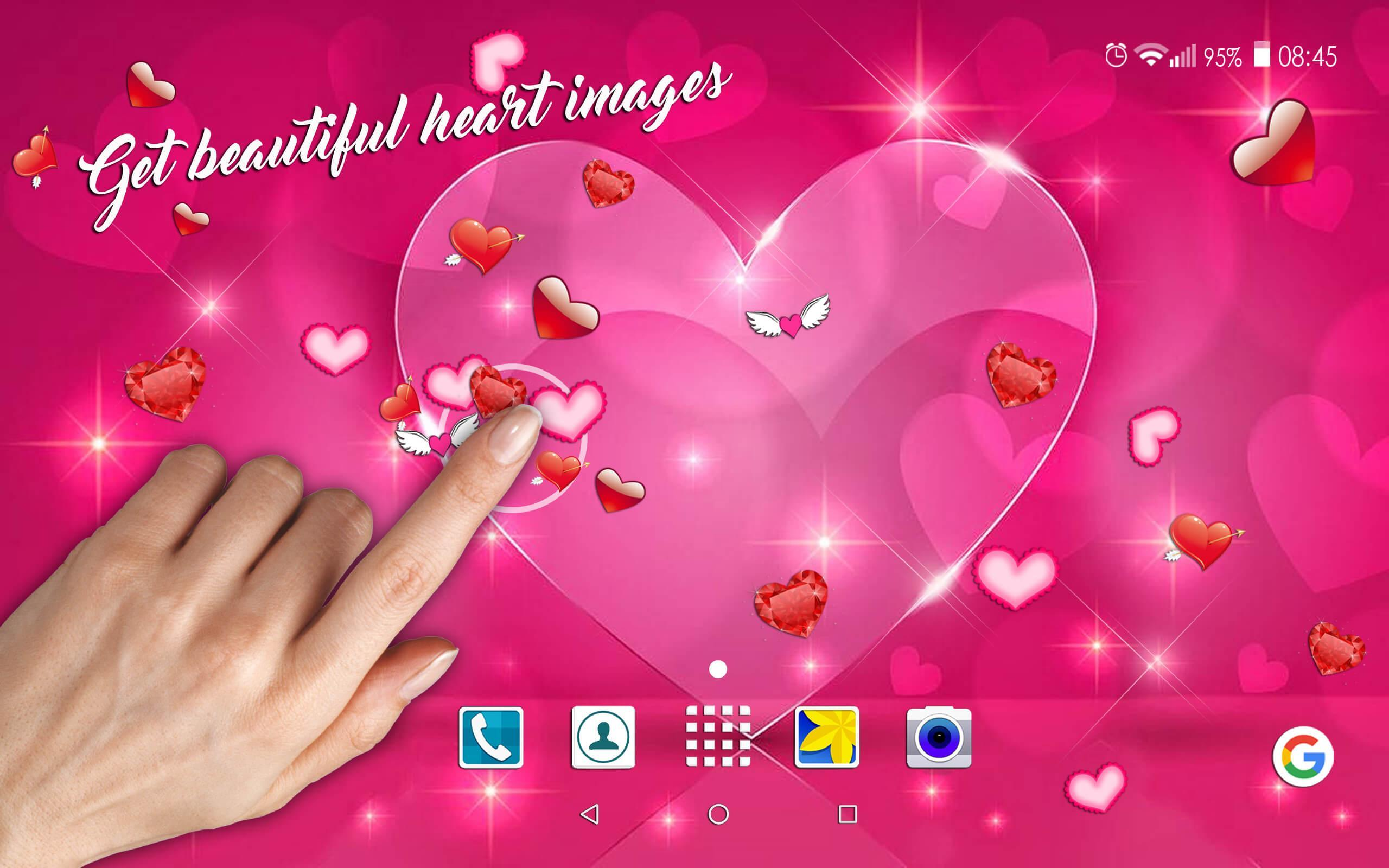 Wallpaper Hati 💞 Gambar Cinta Romantis For Android APK