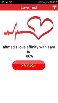 Love Test apk screenshot