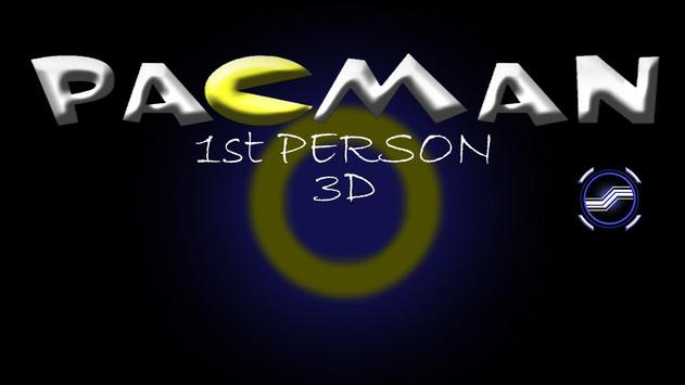 Pacman3D 1st Person poster