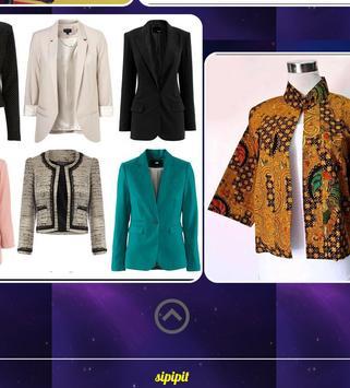 Female Blazer Design apk screenshot