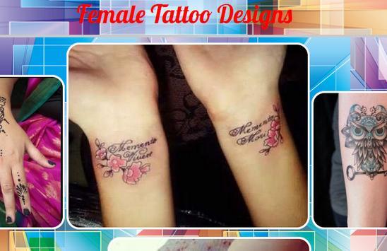 Female Tattoo Designs poster
