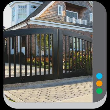Fence House Design poster