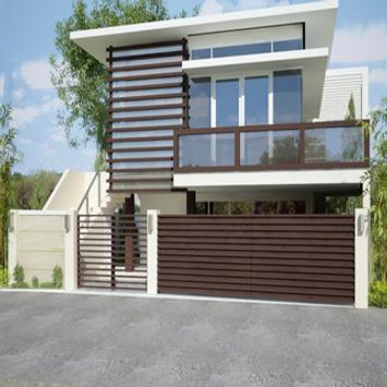 Fence House Design Ideas poster