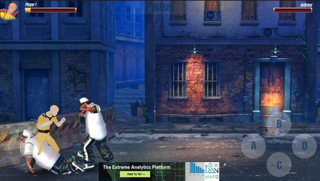 street fighting:  kung heroes combat battle 2018 screenshot 2