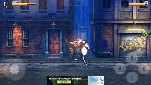street fighting:  kung heroes combat battle 2018 screenshot 3