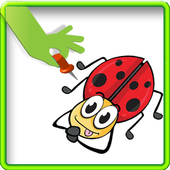 Fight beetles-Kil Insect Game icon