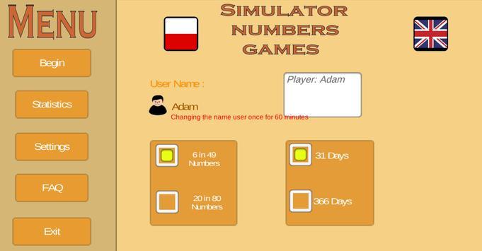 Simulator Numbers Games (Unreleased) poster