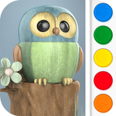 Figuromo Kids : Owl icon