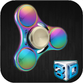 Fidget Spinner 3D icon