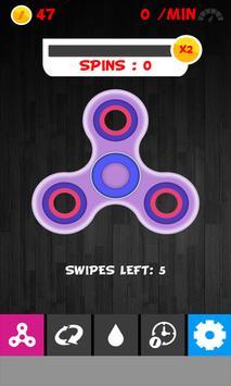 Fidget Spinner 3D poster