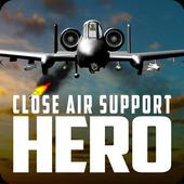 Close Air Support Hero: A-10 Warthog icon