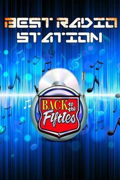 50s Music Radio poster