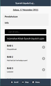 Kitab Syarah Uqudul Lujain screenshot 16