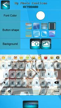 My Photo Emoticon Keyboard apk screenshot