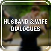 Husband & Wife Funny Filmy Dialogues icon