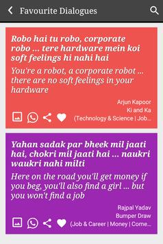 Job & Careers Funny Status & Filmy Dialogues screenshot 20