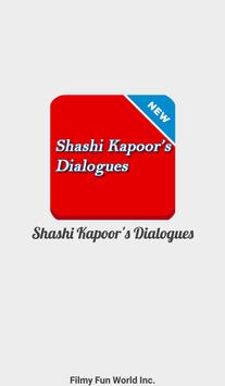 Shashi Kapoor Filmy Old Dialogues poster