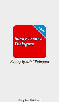 Sunny Leone Filmy Dialogues poster