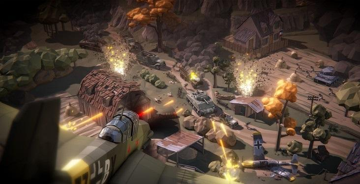 Steel Generals World War II Online RTS for Android - APK