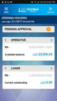NCB Cayman Mobile Banking (Unreleased) screenshot 1