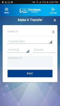 NCB Cayman Mobile Banking (Unreleased) screenshot 2