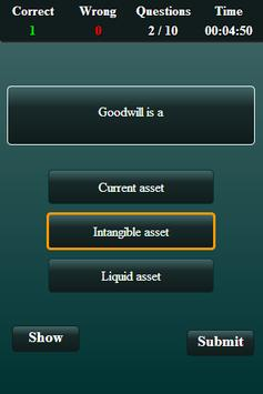 Financial Management Quiz screenshot 3
