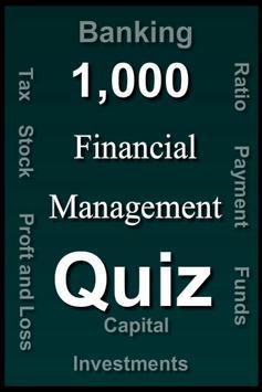 Financial Management Quiz poster