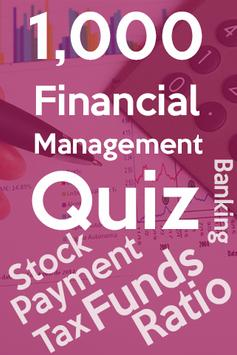 Financial Management Quiz poster
