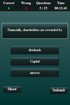 Financial Management Quiz screenshot 12