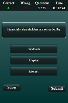 Financial Management Quiz screenshot 12