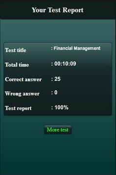 Financial Management Quiz screenshot 20