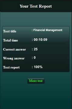 Financial Management Quiz screenshot 20